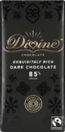 DIVINE 85% DARK CHOCOLATE 90G