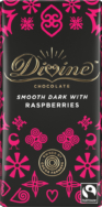 DIVINE DARK CHOCOLATE AND RASPBERRIES 90G