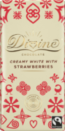 DIVINE WHITE CHOCOLATE STRAWBERRY 90G