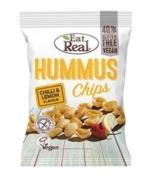 EAT REAL HUMMUS CHIPS CHILLI AND LEMON 45G