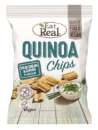 EAT REAL QUINOA CHIPS SOUR CREAM & CHIVES 30G