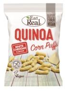 EAT REAL QUINOA PUFFS WHITE CHEDDAR 113G