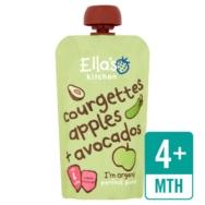 Courgette Apple Avocado,Ellas