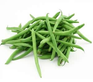 Ripe Organic Beans, Round Green