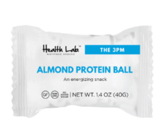 Almond Protein Ball, Health Lab