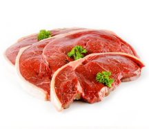 Organic Heart Rump Steak  2 x 150g