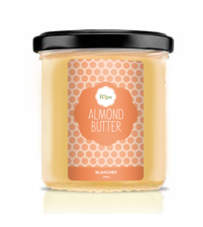 almond butter, Ripe