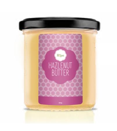 Hazelnut butter, Ripe