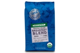 JAVA ORGANIC GROUND COFFEE BREAKFAST BLEND 283G