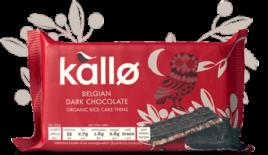 Belgian Dark Chocolate 90g, Kallo