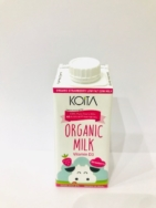 Organic Strawberry Milk 200ml, Koita