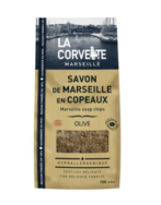 Olive Oil Laundry Soap Chips, La Corvette Marseille 72%