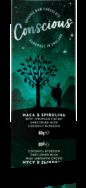 CONSCIOUS MACA & SPIRULINA BAR 60G