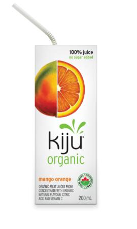 Organic Mango and Orange Juice, Kiju
