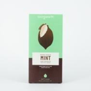 Crunchy Mint Raw Dark Chocolate, Loving Earth