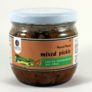 Organic Mixed Vegetable Pickle, Rootz