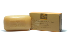 Natural Soap With Propolis, Mybee