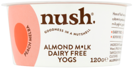 Almond Milk Yoghurt Peach, Nush
