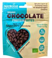 Dark Chocolate Protein Bites, Nutrilicious
