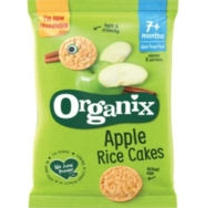 ORGANIX ORGANIC APPLE RICE CAKES 50G