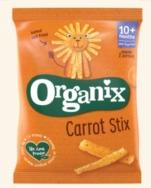 ORGANIX CARROT STICKS 15G