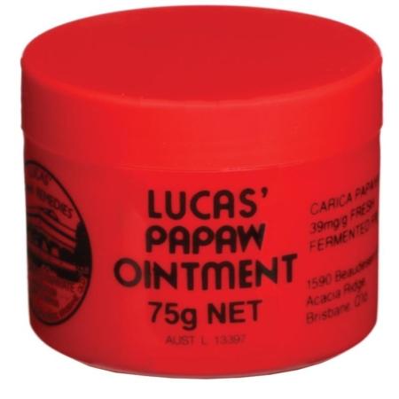 lucas papaw ointment 75g ripe organic