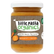 Pumpkin Carrot Sauce, Little Pasta Organic
