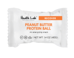 Peanut Butter Protein Ball, Health Lab
