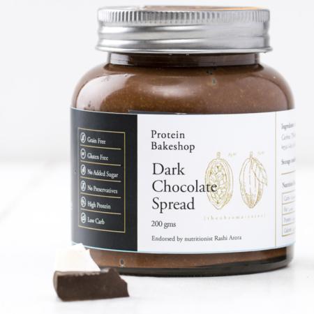Dark Chocolate Spread, Protein Bake Shop