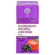 Blackcurrant Apple Juice, Pumpkin Tree Organics