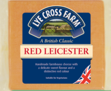 Red Leicester Cheese, Lye Cross Farm