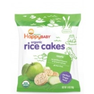 Munchies Bags Apple  Rice Cakes, Happy Baby