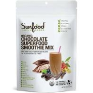 SUNFOOD ORGANIC SMOOTHIE MIX CHOCOLATE 227G