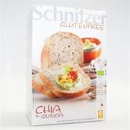 Gluten Free Chia Bread, Schnitzer