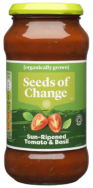 Tomato And Basil Sauce, Seeds Of Change 500g