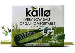 Low Salt Vegetable Stock, Kallo