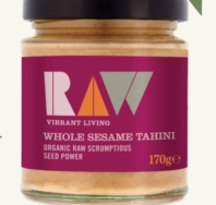 RAW HEALTH TAHINI 170G
