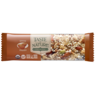 Organic Almond Bar, Taste Of Nature