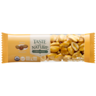 Organic Peanut Bar, Taste Of Nature