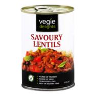 Savoury Lentils, Veggie Delights