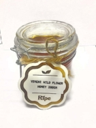 RIPE RAW YEMENI WILD FLOWER HONEY  200G