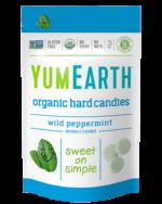 Organic Drops Wild Peppermint, Yum Earth
